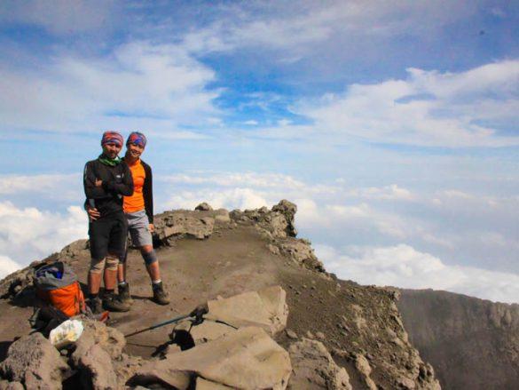 Pasangan pertama 7 Summiter of Indonesia