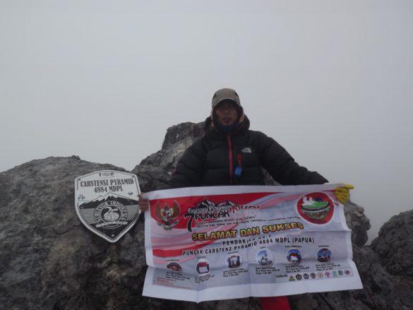 Pendaki Asal Kalimantan menuntaskan 7 Summits of Indonesia