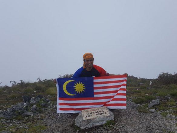 Pendaki pria asal Malaysia menuntaskan 7 Summits Indonesia